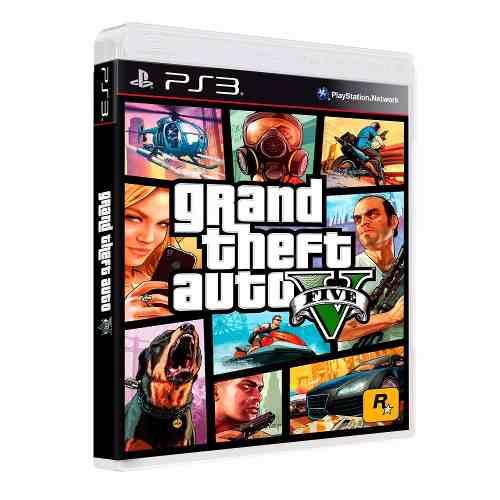 GTA V Playstation 3 Original Usado  - Place Games