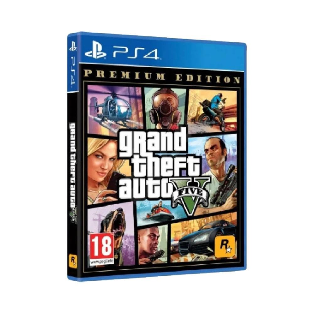 GTA V PS4 Original Midia Fisica Novo  - Place Games