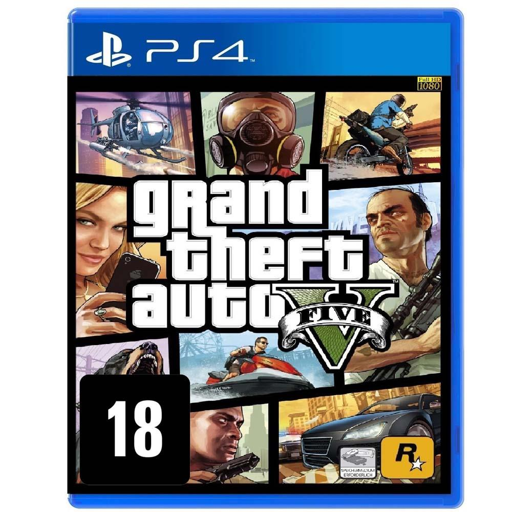 GTA V PS4 Original Usado  - Place Games