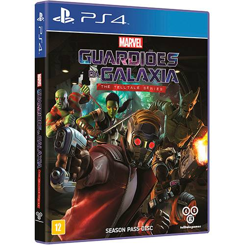 Guardiões da Galaxia PS4 Original Lacrado  - Place Games