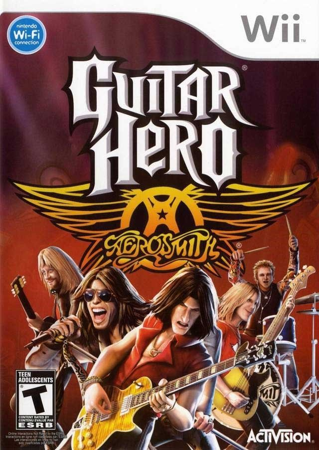 Guitar Hero Aerosmith Wii Usado Original  - Place Games