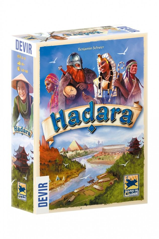 Hadara Jogo de Tabuleiro Devir BGHADARA  - Place Games