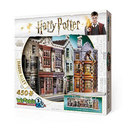 Harry Potter Beco Diagonal Quebra-Cabeça 3D Galapagos W3D110  - Place Games