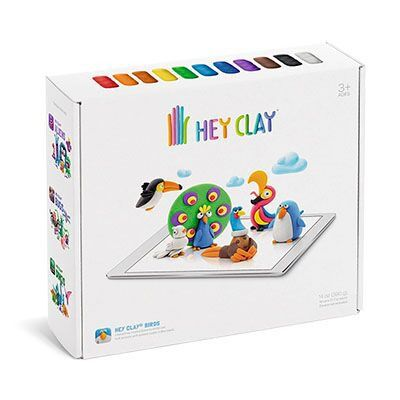 Hey Clay Aves Massinha de Modelar Galapagos HEY003  - Place Games