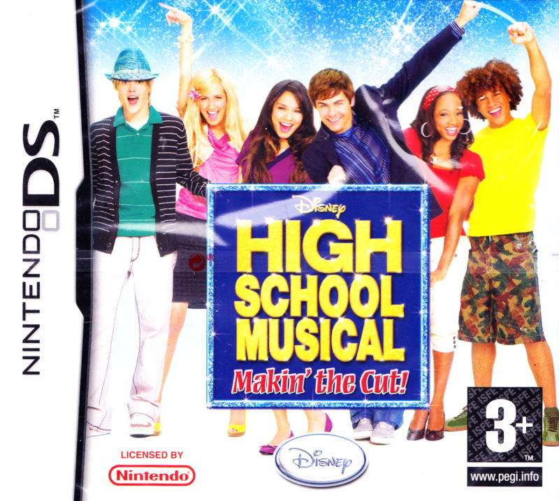 High School Musical Makin the cut Nintendo DS Original Lacrado  - Place Games