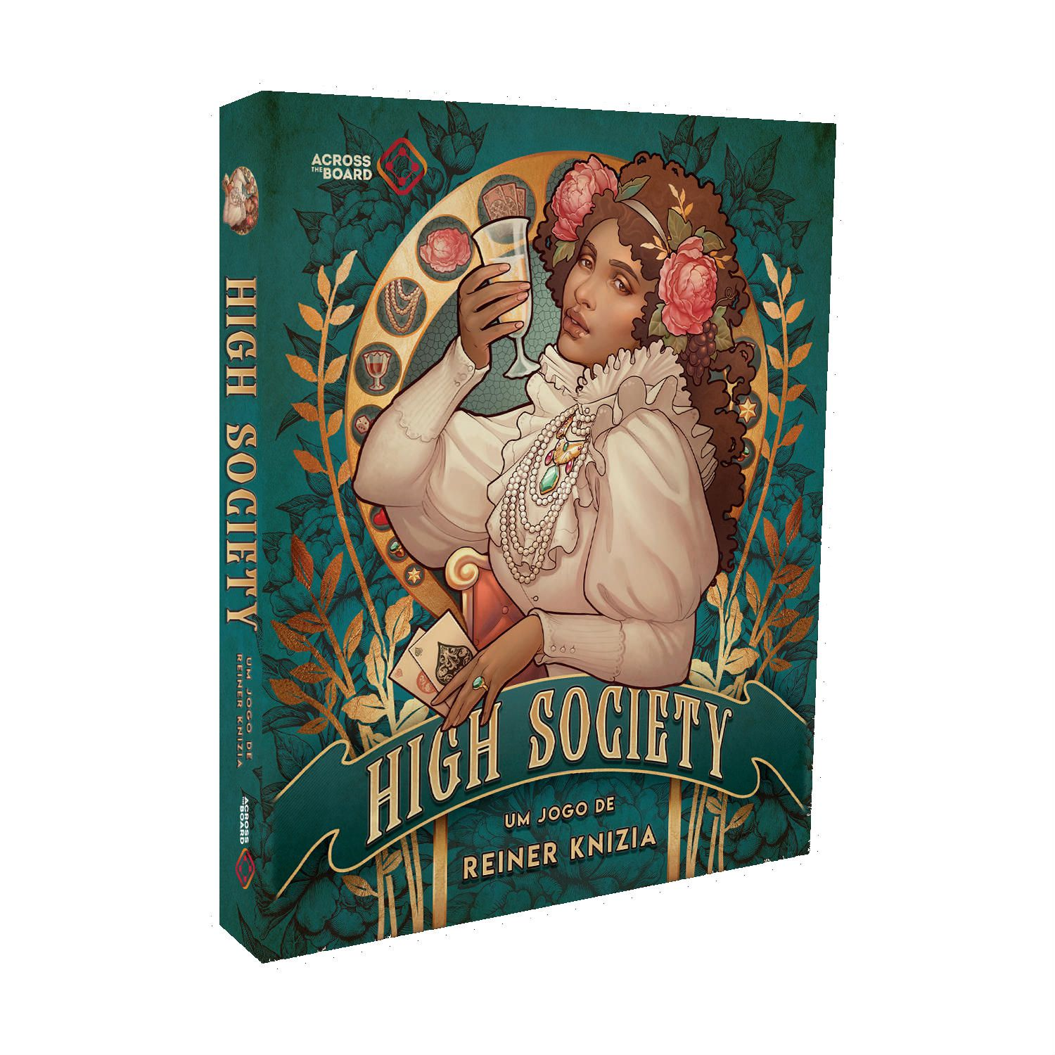 High Society Jogo de Cartas Across the Board  - Place Games