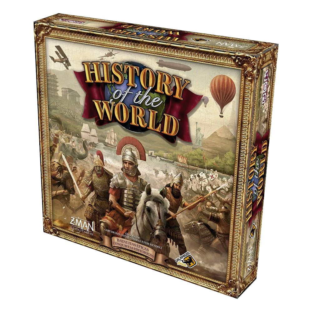 History of the World Jogo de Tabuleiro Galapagos HOW001  - Place Games