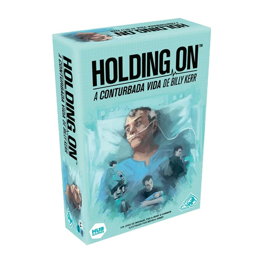 Holding On A Conturbada Vida de Billy Kerr Jogo de Tabuleiro Galapagos HON001  - Place Games
