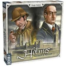Holmes: Sherlock e Mycroft  Jogo de Cartas Devir BGHOLMES  - Place Games