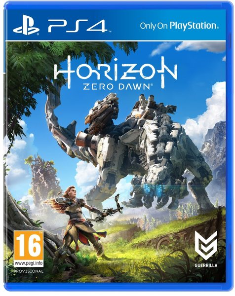 Horizon Zero Dawn Playstation 4 Original Usado  - Place Games