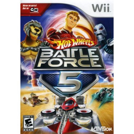 Hot Wheels - Battle Force 5 Wii Usado Original  - Place Games