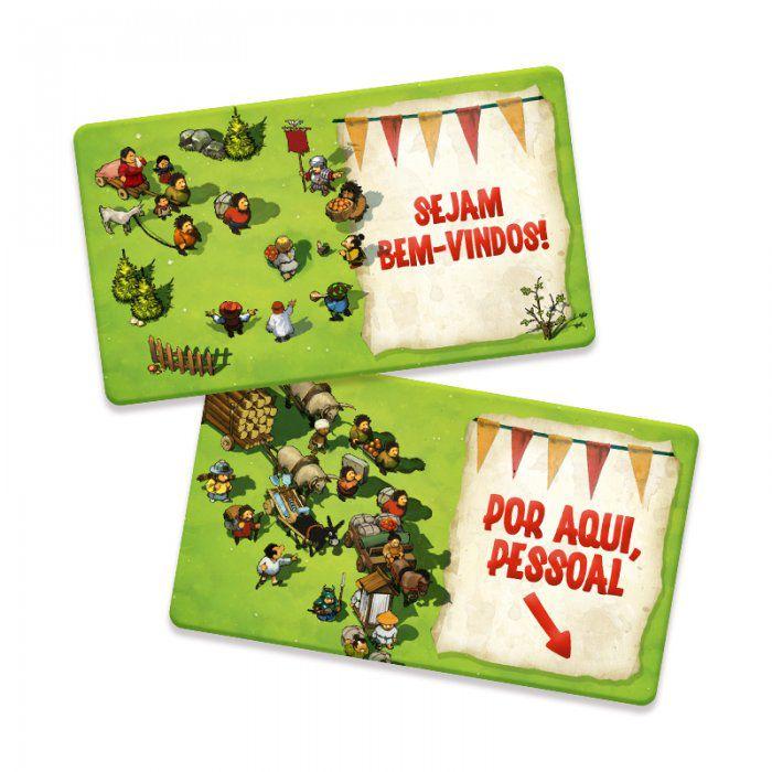 Imperial Settlers Miniexpansão Fichas de Estoque Mandala PRM0007  - Place Games