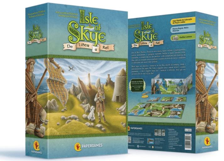 Isle of Skye de lider a rei Jogo de Estrategia PaperGames J003  - Place Games