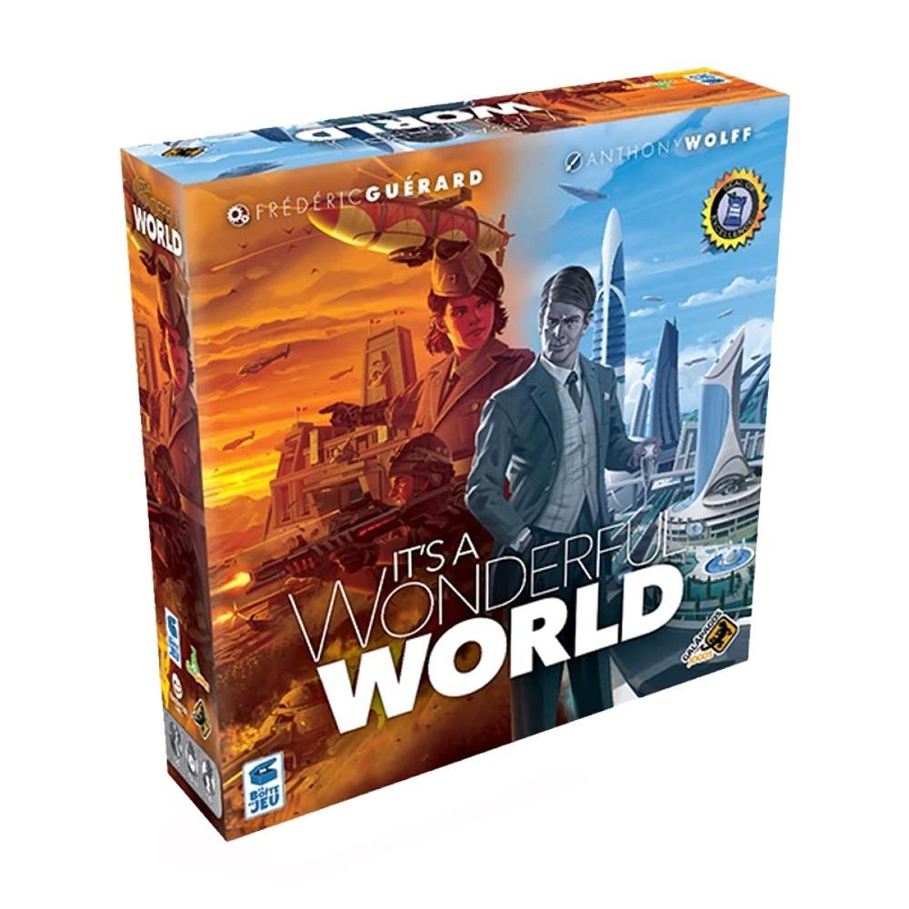 Its a Wonderful World Jogo de Tabuleiro Galapagos WWO001  - Place Games