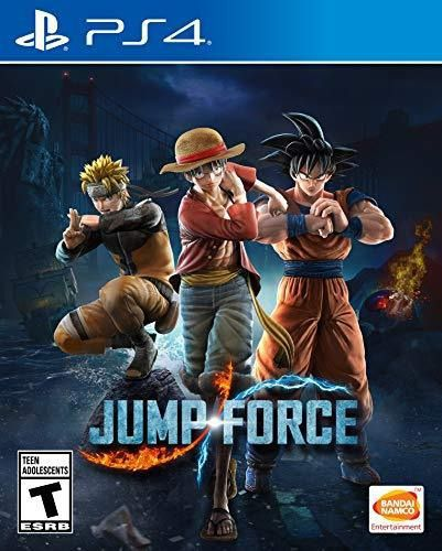 Jump Force Playstation 4 Midia Fisica Usado  - Place Games
