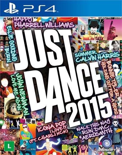 Just Dance 2015 Playstation 4 Original Lacrado  - Place Games
