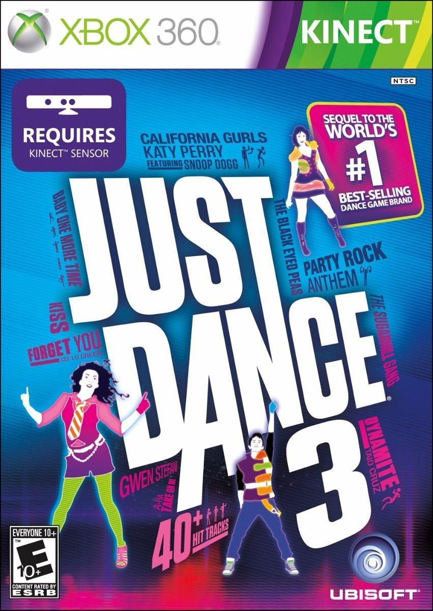 Just Dance 3 Xbox 360 Usado Original  - Place Games
