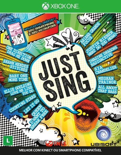 Just Sing Xbox One Original Usado  - Place Games