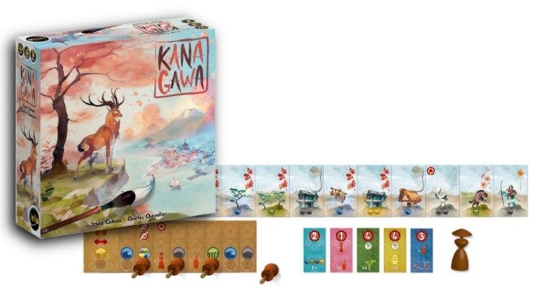 Kanagawa jogo de Tabuleiro Red Box RBX150  - Place Games