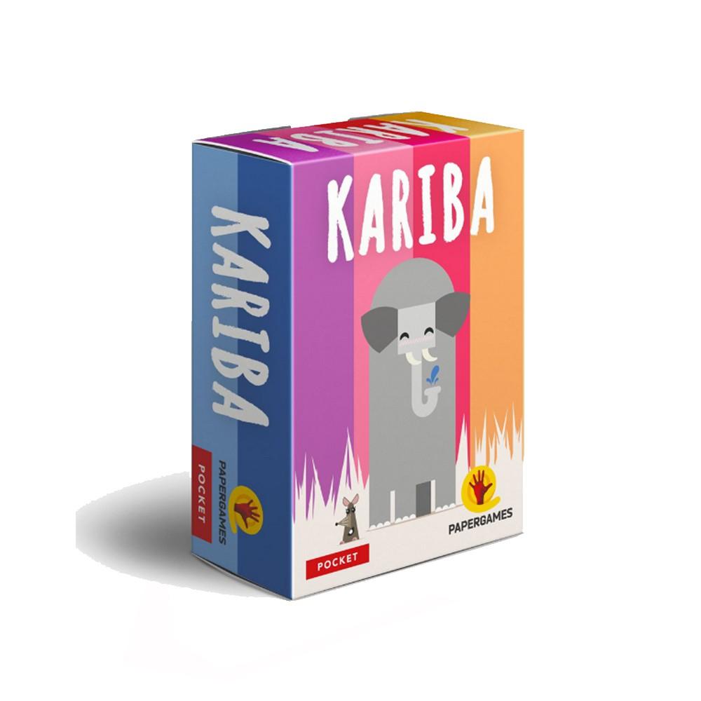 Kariba Jogo de Cartas PaperGames J026  - Place Games