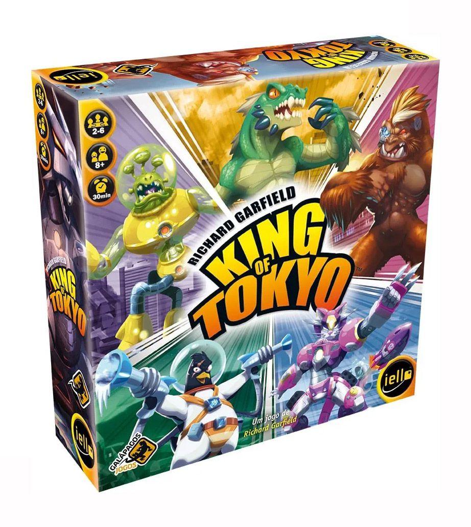 King of Tokyo 2a Edição + King of New York Jogos de Tabuleiro Galapagos  - Place Games