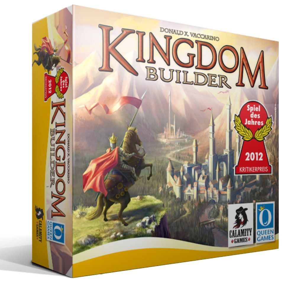 Kingdom Builder Jogo de Tabuleiro Calamity Games  - Place Games