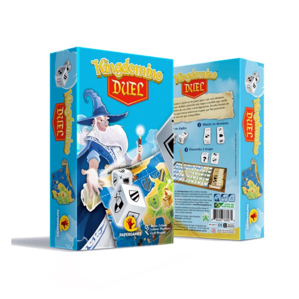 Kingdomino Duel Jogo de Dados PaperGames J039  - Place Games