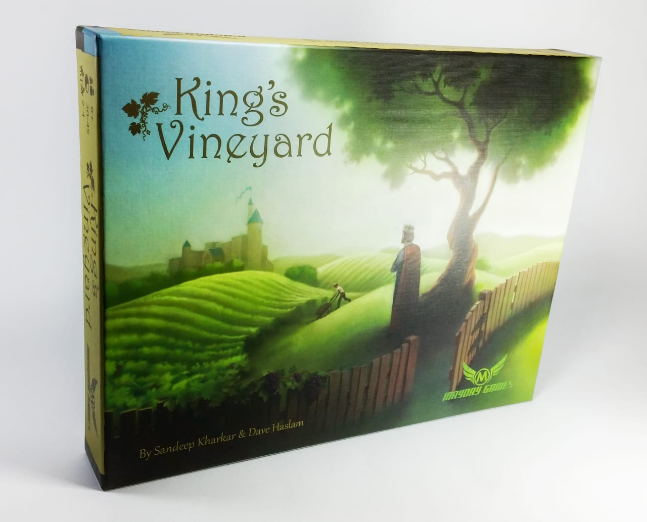 Kings Vineyard Jogo de Tabuleiro Importado Mayday Games  - Place Games