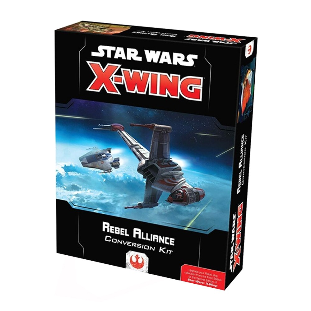 Kit de Conversão Rebel Alliance X-Wing 2.0 Wave 2 Galapagos SWZ506  - Place Games