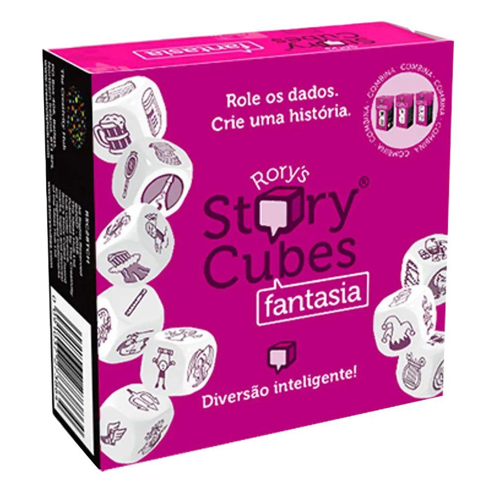 Kit Rory Story Cubes Mistério + Fantasia Jogo de Dados Galapagos  - Place Games