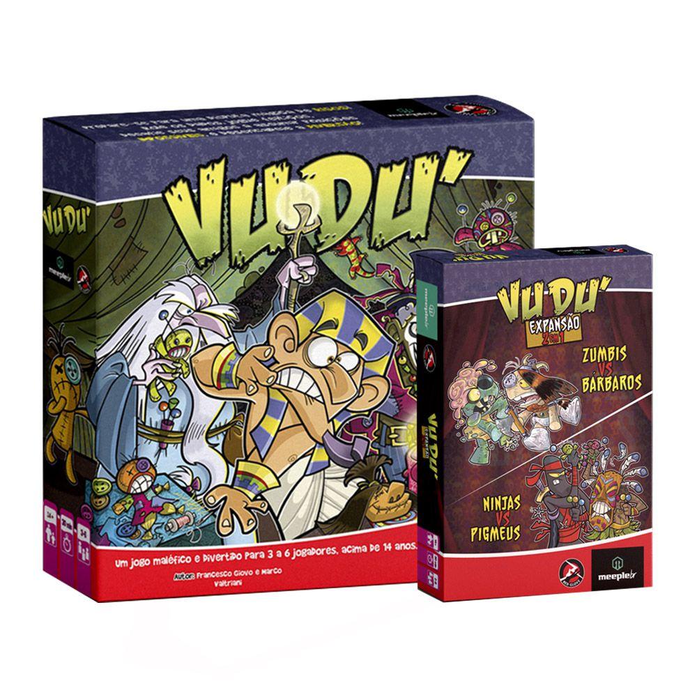 Kit Vudu + Expansão 2 em 1 Jogo de Tabuleiro Meeple BR  - Place Games