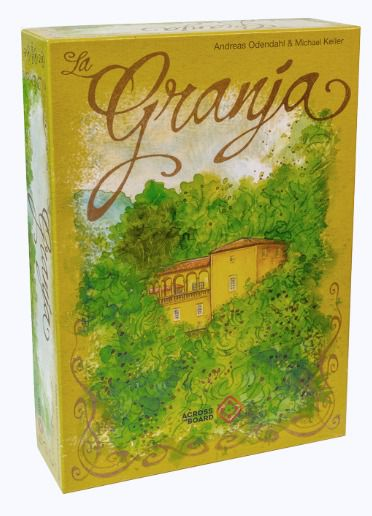 La Granja + Promo Cards + Board Band Jogo de Tabuleiro Across the Board  - Place Games