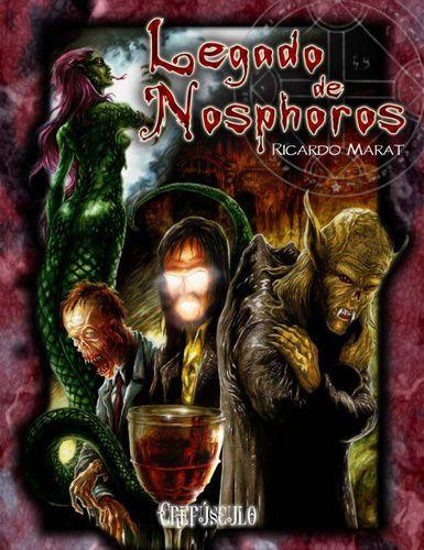 Legado de Nosphoros Ricardo Marat Livro de RPG Conclave  - Place Games