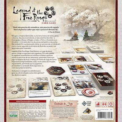 Legend of the Five Rings Jogo de Cartas Galapagos L5R001  - Place Games