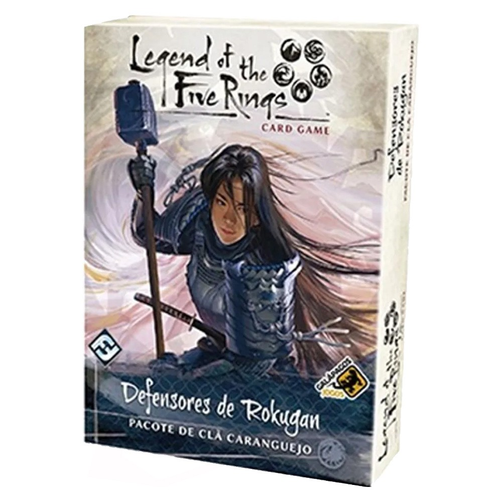 Legend of the Five Rings Defensores de Rokugan Pacote de Clã Caranguejo Jogo de Cartas Galapagos L5R026  - Place Games
