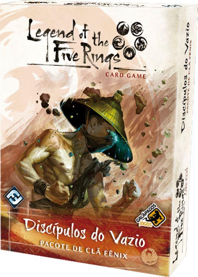 Legend of the Five Rings Discipulos do Vazio Pacote de Clã Fênix Jogo de Cartas Galapagos L5R008  - Place Games