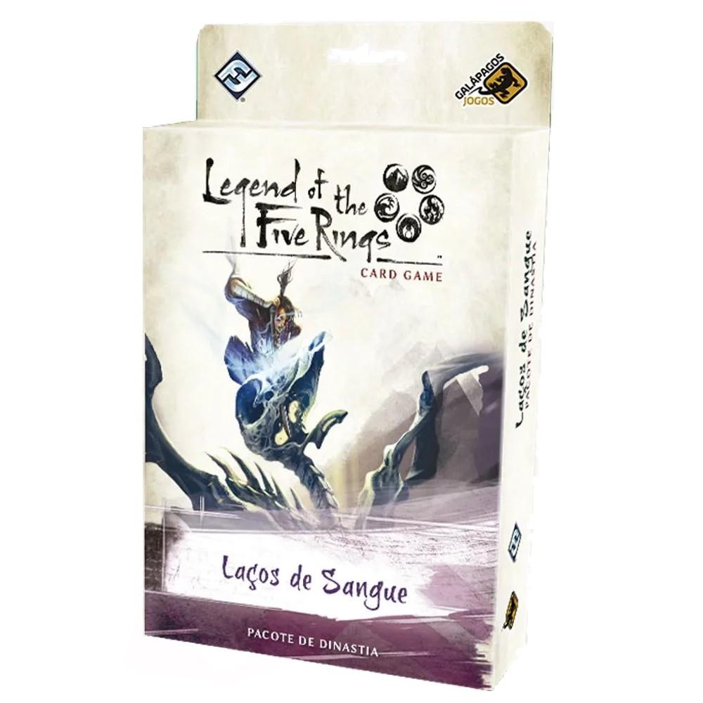 Legend of the Five Rings Laços de Sangue Ciclo da Herança Jogo de Cartas Galapagos L5R020  - Place Games