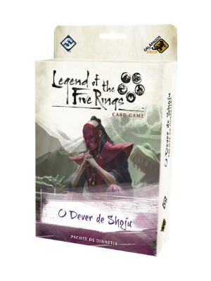 Legend of the Five Rings O Dever de Shoju Ciclo da Herança Jogo de Cartas Galapagos L5R024  - Place Games