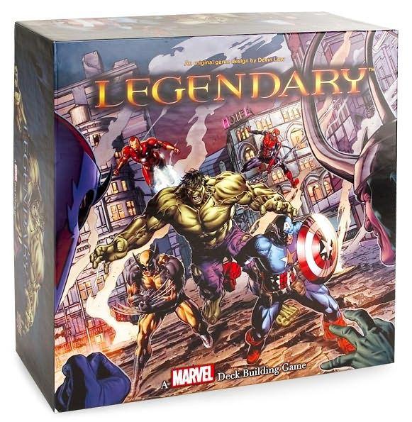 Legendary A Marvel Deck Building Games Jogo de Tabuleiro Importado Upper Deck  - Place Games