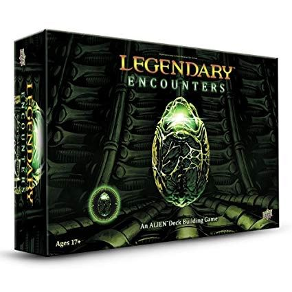 Legendary Encounters An Alien Deck Building Games Jogo de Tabuleiro Importado Upper Deck  - Place Games