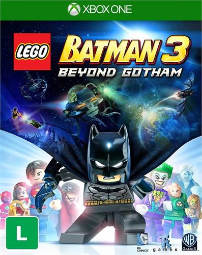Lego Batman 3 Beyond Gotham Xbox One Original Usado  - Place Games