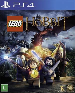 Lego The Hobbit Playstation 4 Original Lacrado  - Place Games
