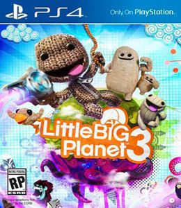 Little Big Planet 3 Playstation 4 Usado  - Place Games
