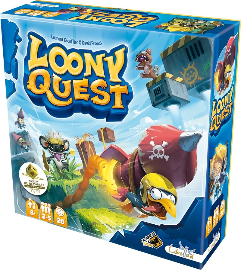 Loony Quest Galapagos LNQ001  - Place Games