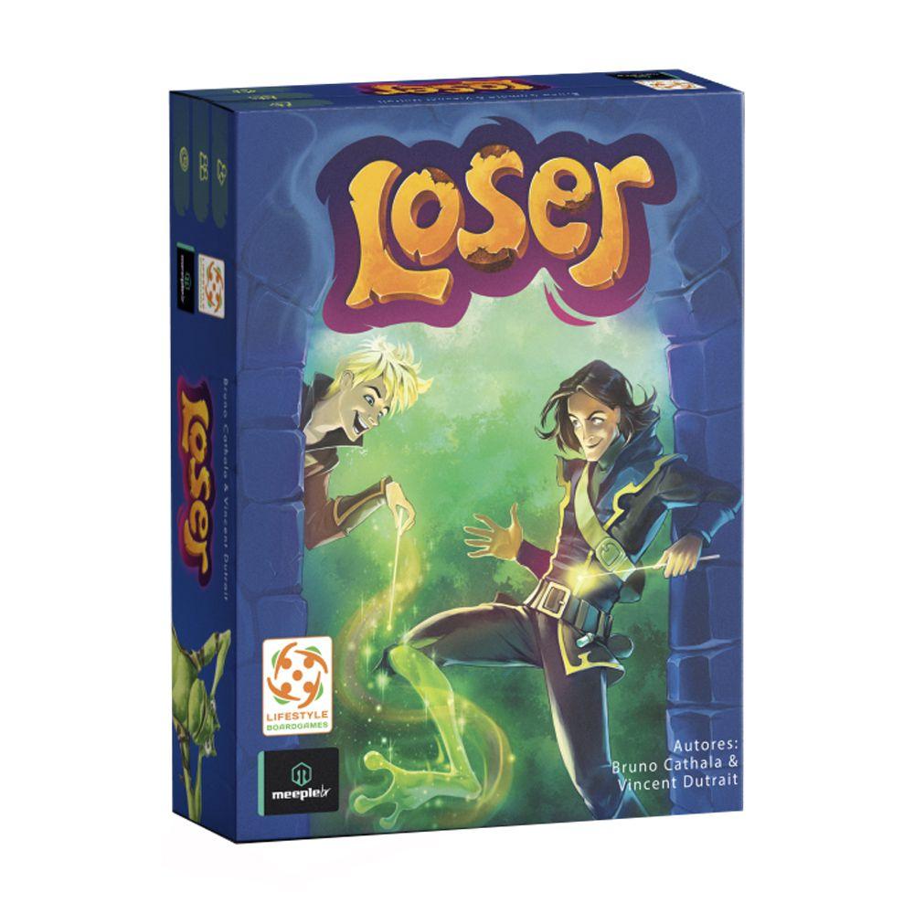 Loser Jogo de Cartas Meeple BR  - Place Games