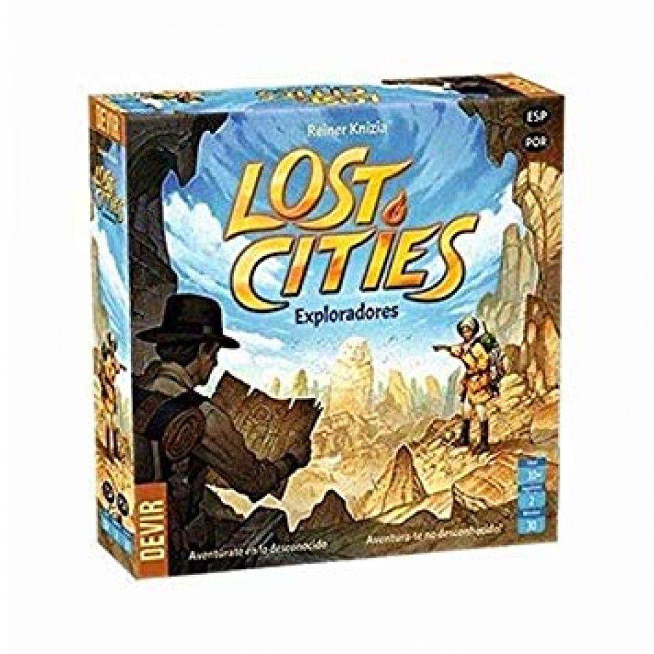 Lost Cities Exploradores Jogo de Tabuleiro Devir BGEXPLORA  - Place Games