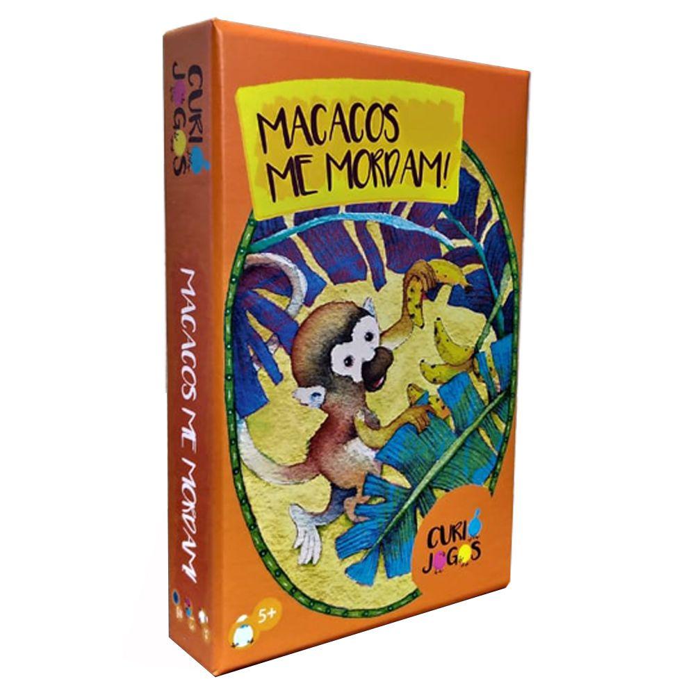 Macacos Me Mordam Jogo de Cartas Curió Jogos  - Place Games
