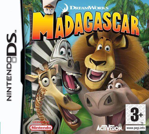 Madagascar Nintendo DS Original Usado  - Place Games
