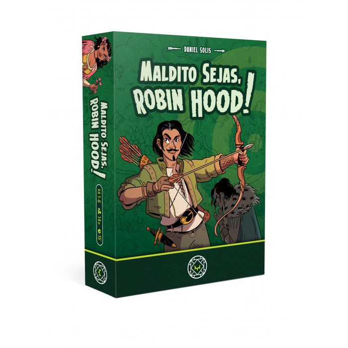 Maldito Sejas, Robin Hood Jogo de Cartas Mandala MDL0002  - Place Games