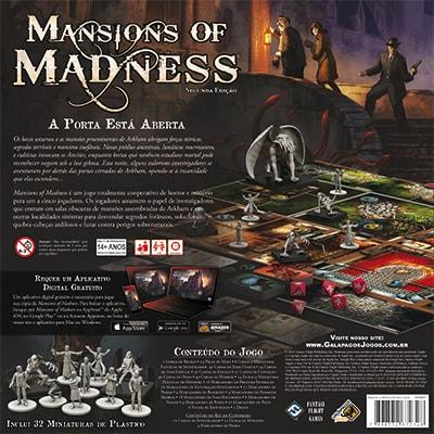 Mansions of Madness Jogo de Tabuleiro Galapagos MOM001  - Place Games